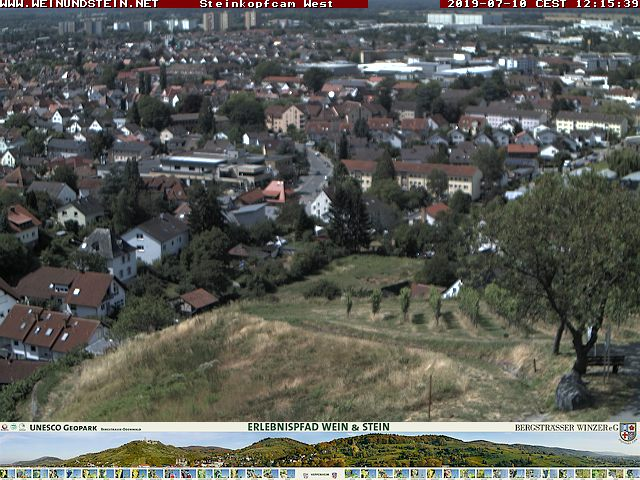 Webcam Erlebnispfad Wein und Stein